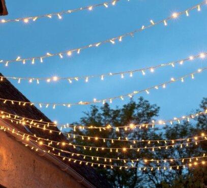 Lempučių girliandos