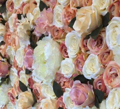 Gėlių siena